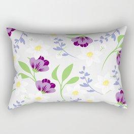 Spring floral pattern Rectangular Pillow