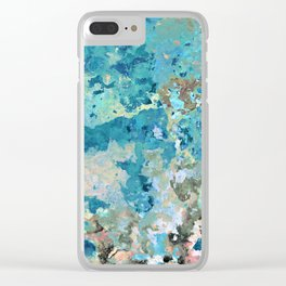 Benign ceruleans of the second layer Clear iPhone Case