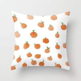 Citrus Daze Throw Pillow