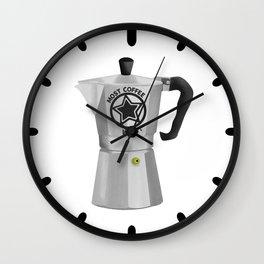 Most Coffee Wins Wall Clock