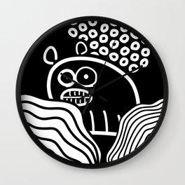 Ugly Bear /Marek/ Wall Clock