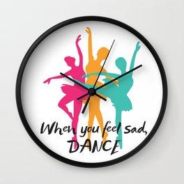 Dancer , ballet , ballerina , Wall Clock