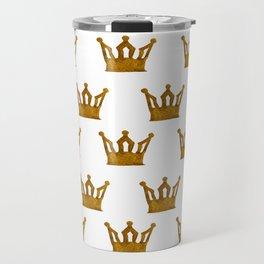 Golden Crown I Travel Mug