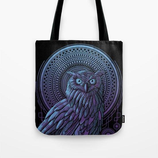 Owl Nouveau II Tote Bag