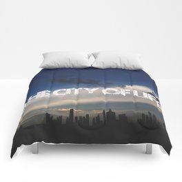 The city of life // #DubaiSeries Comforters