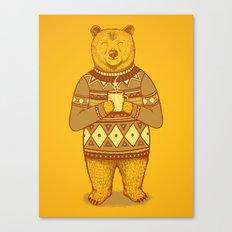 Keep Warm Canvas Print