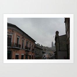 Centro Historico Art Print