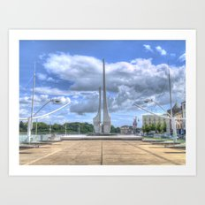 Millennium Plaza, Waterford City Art Print