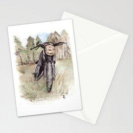 Cafe Racer Illustration Stationery Cards
