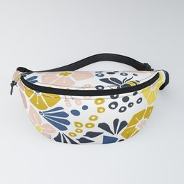 Flower meadow with bees Fanny Pack