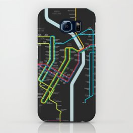 Rail Transit of Portland, Oregon iPhone Case