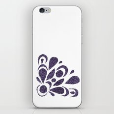 morado iPhone Skin