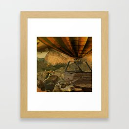1987 Steampunk Framed Art Print