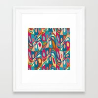 psychedelic Framed Art Prints featuring Psychedelic by Helene Michau