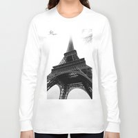 eiffel Long Sleeve T-shirts featuring Eiffel by Julie Photographie