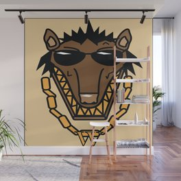 Mr.Wolf Wall Mural