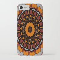 gladiator iPhone & iPod Cases featuring Furious Gladiator by Silentwolf