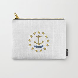 rhode island state flag united states of america  Carry-All Pouch