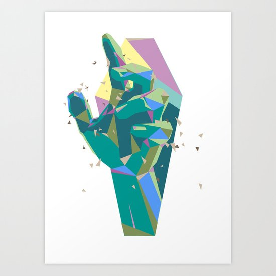 Break On Through To The Other Side Art Print