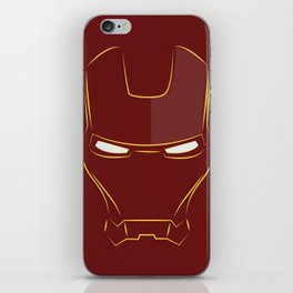 iron man face iPhone Skin