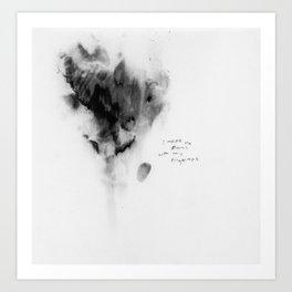 fingerprints 001 Art Print
