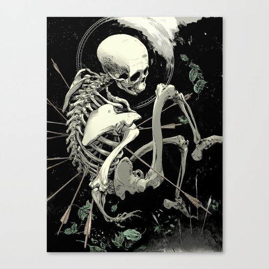 Caetera fumus Canvas Print