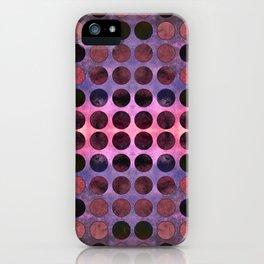 MELANGE of Purple-Coral-Rust no2 iPhone Case
