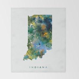 Indiana Throw Blanket