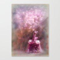fairy tale Canvas Prints featuring fairy tale by Bunny Noir