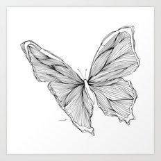 Butterfly Go Fly 1 Art Print