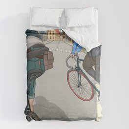 City traveller Duvet Cover
