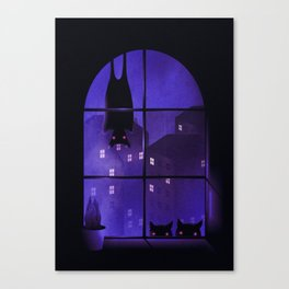 Dream Watchers Canvas Print