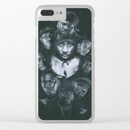 36 Chambers Clear iPhone Case