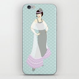 Flapper ready for the new Roaring Twenties! (15) iPhone Skin