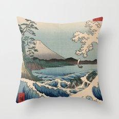 The Sea of Satta Throw Pillow