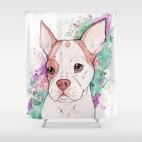 butcher billy Shower Curtains featuring Billy by Soryane