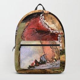 Bunny Illustration Backpack
