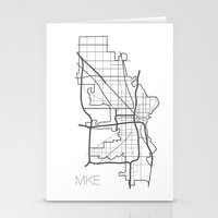 milwaukee Stationery Cards featuring Milwaukee by linnydrez