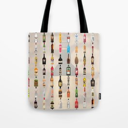 Liqueurs Tote Bag