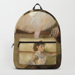 "Edgar Degas ""The Dance Lesson"" Backpack"