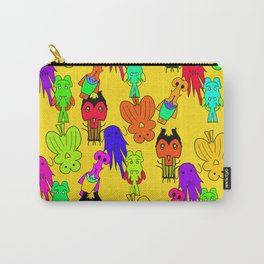 Yellow Clown Carry-All Pouch