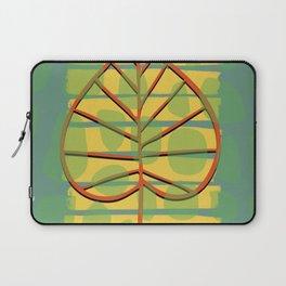 Autumn Leaf abstract Laptop Sleeve