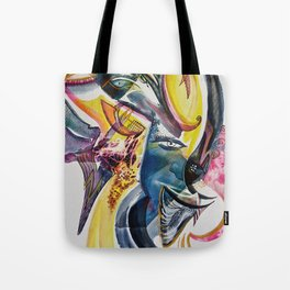 Winged Sound Tote Bag