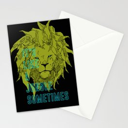 It's Like a Jungle Sometimes... Stationery Cards