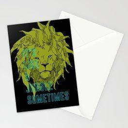 It's Like a Jungle Sometimes... Stationery Cards