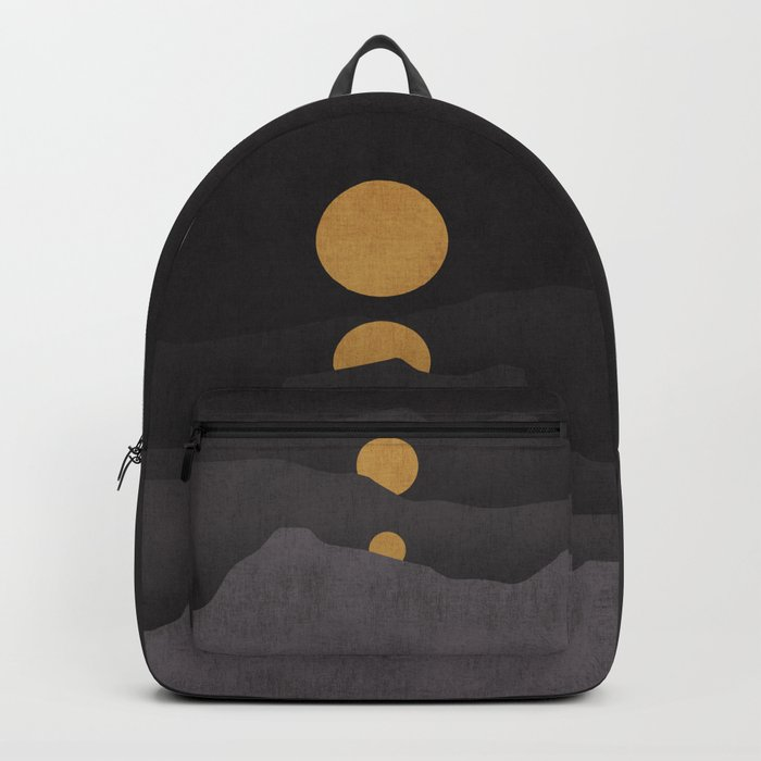 Rise of the golden moon Rucksack