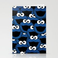 cookie monster Stationery Cards featuring Cookie Monster  by aldarwish