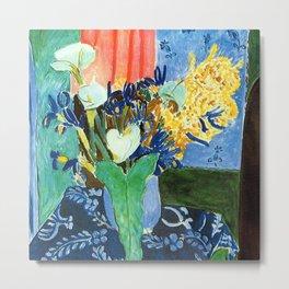 Henri Matisse Lilies, Irises and Mimosas Metal Print
