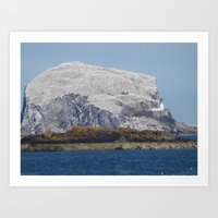 Bass Rock Art Print