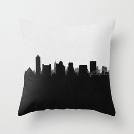 City Skylines: Memphis Throw Pillow